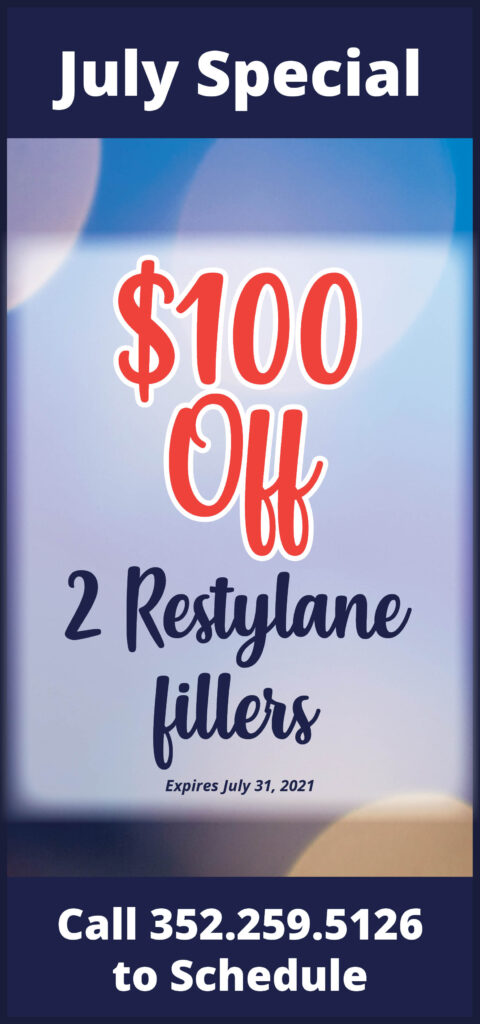 $100 Off 2 Restylane Fillers